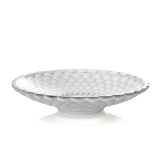Ariana Frosted Glass Centerpiece Bowl