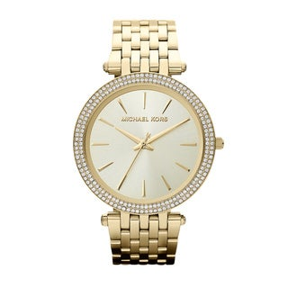Michael Kors Women's MK3191 'Darci' Goldtone Watch