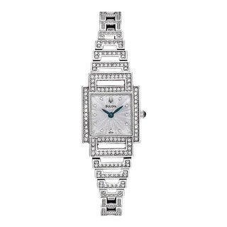 Bulova Women's 96L140 Crystal-accented Stainless Steel Watch