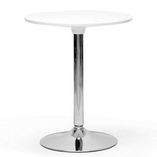 Ji Small White Modern Bistro Table
