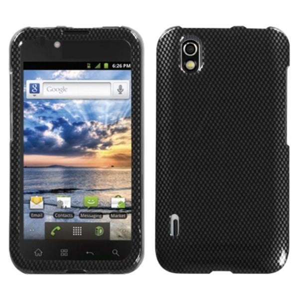 INSTEN Carbon Fiber Phone Case Cover for LG LS855 Marquee