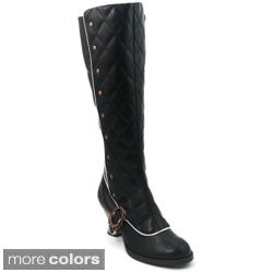 Hades Women's 'Victoriana' Thundra Leather Vintage Boots