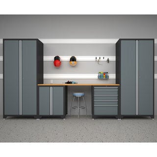 NewAge Products Pro Series Grey 5-piece Cabinetry Set