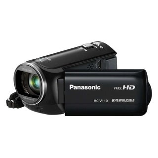 "Panasonic HC-V110 Digital Camcorder - 2.7"" LCD - BSI MOS - Full HD -"