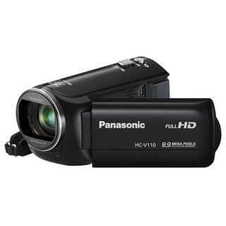 "Panasonic HC-V110 Digital Camcorder - 2.7"" LCD - BSI MOS - Full HD"