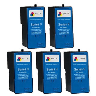 Dell MK993 (Series 9) High-Capacity Color Ink Cartridge (Pack of 5)