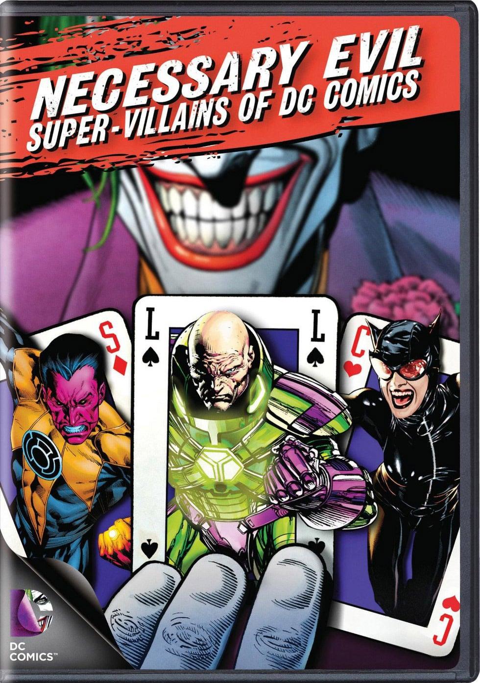 Necessary Evil: Villains of DC Comics (DVD)