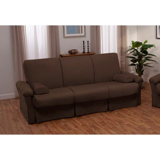 Taylor Perfect Sit and Sleep Transitional Pocketed Coil Pillow Top Futon Sofa Sleeper Bed