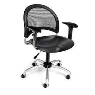 OFM Moon Series Plastic Task Arm Chair
