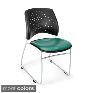 OFM Stars Series Vinyl Stacking Chair (Pack of 4)