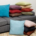 Faux Suede 22-inch Decorative Pillows (Set of 2)