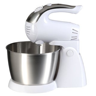 Brentwood SM-1152 White 5-speed Stand Mixer
