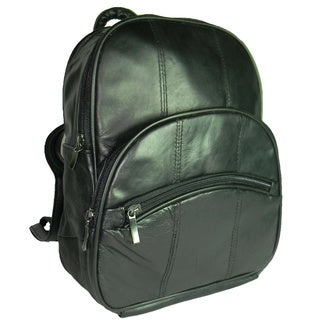 Hollywood Tag Traditional Leather Backpack