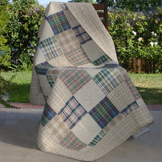 Oxford Quilted Throw
