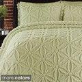 Arianna Chenille 3-piece Bedspread Set
