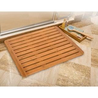 Classics Bamboo Bathroom Floor Mat (26 in x 20 in)