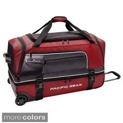 Pacific Gear by Traveler's Choice Drop Zone 30-inch Drop-bottom Rolling Upright Duffel Bag