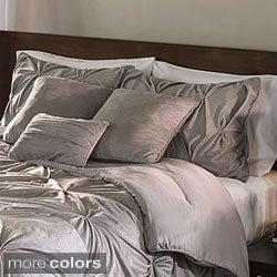 Microplush Pintuck 7-piece Comforter Set