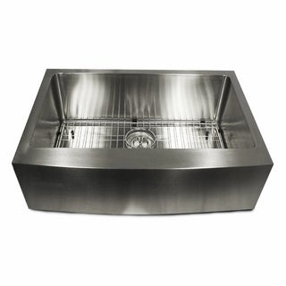 Stainless Steel 30-inch Apron Kitchen Sink