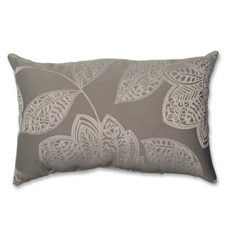 Pillow Perfect Beatrice Jute Rectangular Throw Pillow
