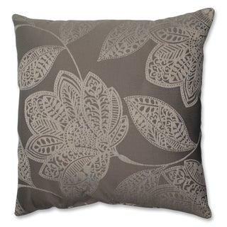 Pillow Perfect Beatrice Jute 18-inch Throw Pillow