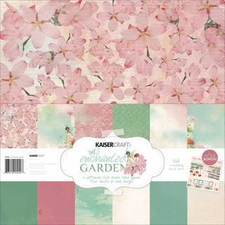 """Enchanted Garden Paper Pack 12""""X12in"""