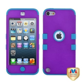 INSTEN Grape/ Tropical Teal TUFF Hybrid iPod Case Cover for Apple iPod touch 5