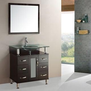 Kokols Single Sink 36-inch Bathroom Vanity Cabinet