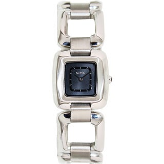Nixon Women's Sisi Ss A285000-00 Silver Stainless-Steel Quartz Watch with Grey Dial