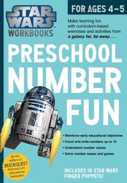 Star Wars Workbook: Preschool Number Fun! (Paperback)