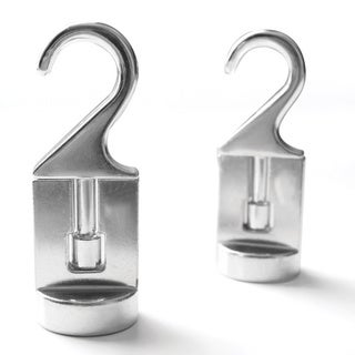 Cooks Standard Solid Cast Aluminum Pot Rack Swivel Hooks (Set of 2)
