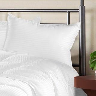 Grand Down Luxurious Down Alternative Striped Pillows (Set of 2)