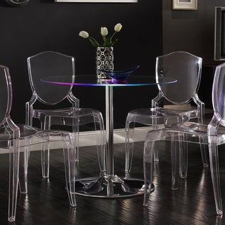 INSPIRE Q Lorin LED Round Dining Table