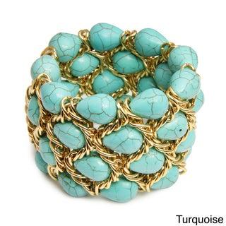 Saachi Stone Chain Bracelet (India)