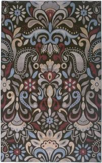 Power-loomed Handicraft Imports Gibraltar Brown Heat-Set Area Rug (9'2 x 12'6)