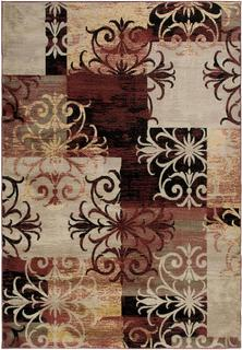 Power-loomed Handicraft Imports Gibraltar Multicolored Heat-Set Area Rug (9'2 x 12'6)
