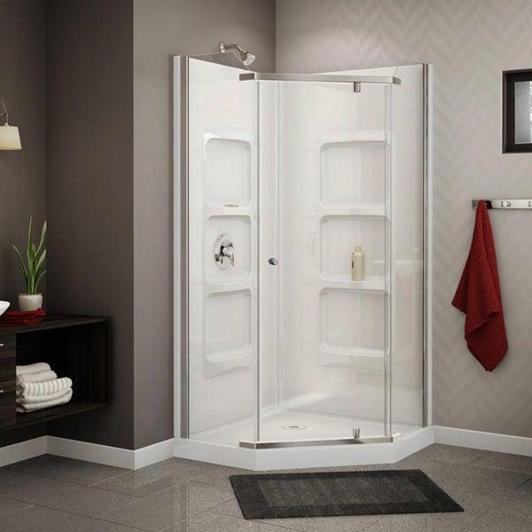Corner Acrylic Showers Acrylic Neo-angle Corner