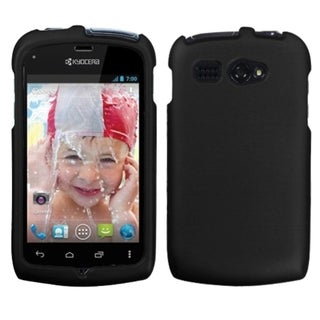 BasAcc Black Rubberized Phone Case for Kyocera C5170 Hydro