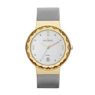Skagen Women's Leonora SKW2002 Silver Stainless-Steel Quartz Watch