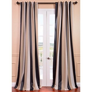 Georgetown Stripe Blackout Curtain Panel