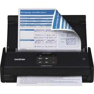 Brother ADS-1000W Sheetfed Scanner - 600 dpi Optical
