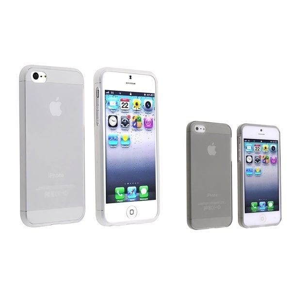 INSTEN 2-piece set Phone Case Cover for Apple iPhone 5/ 5S