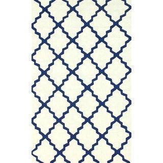 nuLOOM Indoor/ Outdoor Contemporary Moroccan Trellis Rug (9' x 12')