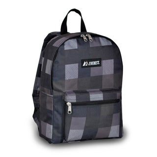 Everest Charcoal Plaid 15-inch Backpack