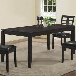 Cappuccino Veneer Dining Table