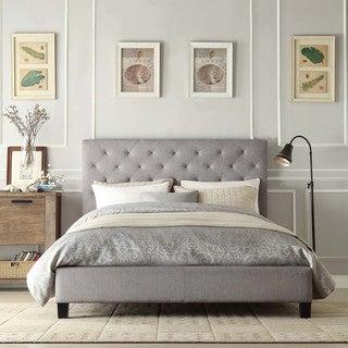 Sophie Grey Queen Platform Bed