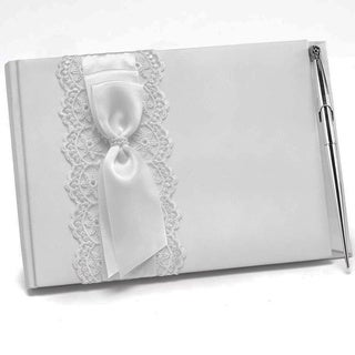 Hortense B. Hewitt Lace Allure Guest Book
