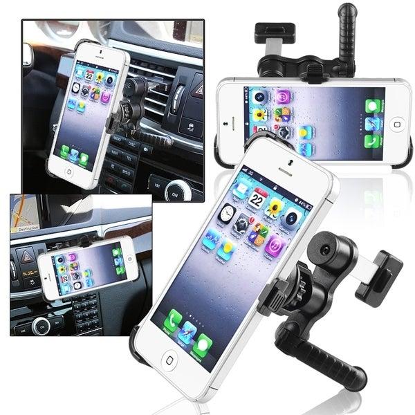 INSTEN Swivel Car Air Vent Holder Mount/ Plate for Apple iPhone 5