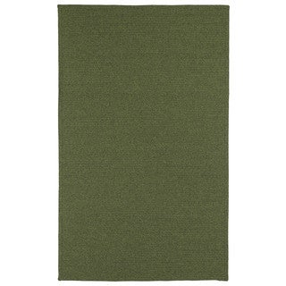 Malibu Indoor/Outdoor Woven Green Rug (9'0 x 12'0)