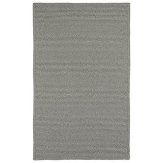 Malibu Indoor/ outdoor Woven Grey Rug (5'x8')